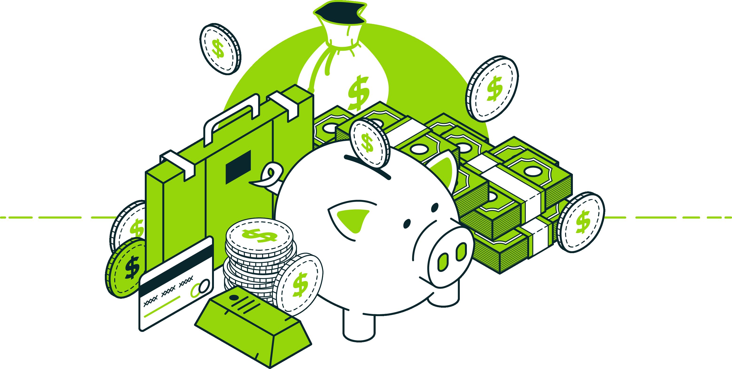 Money Recovered Illustration