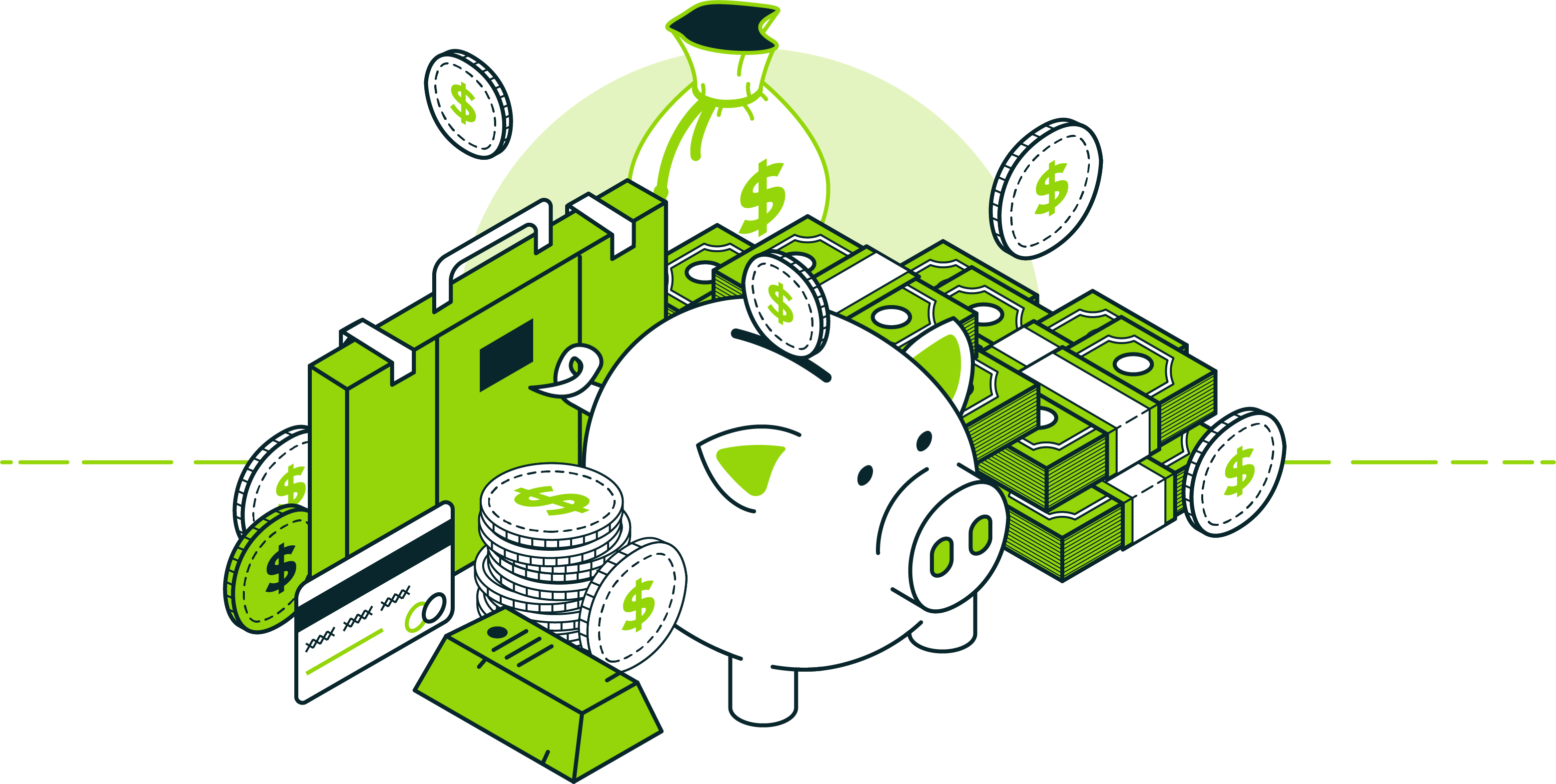 Money Recovered Illustration